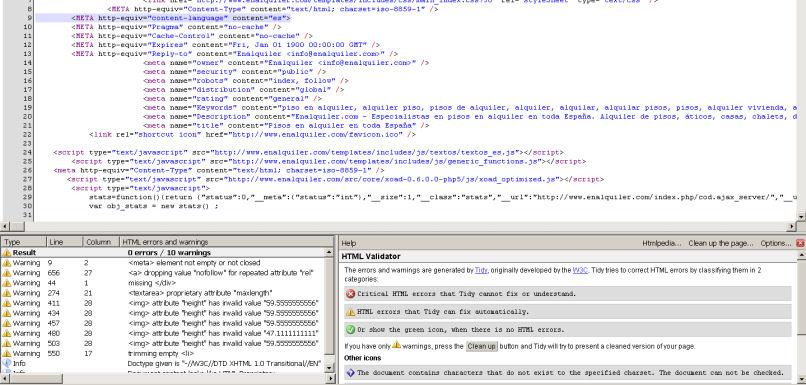 HTML Validator