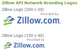 Logos requeridos para usar la API de Zillow