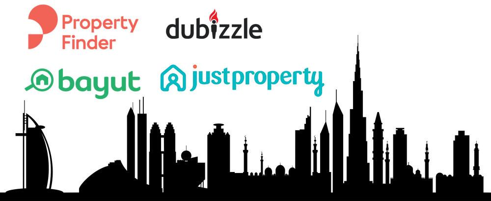dubai property portals ranking analysis in january 2019